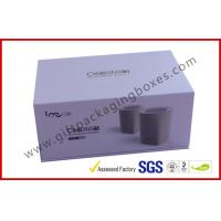 Blue Tooth Speaker Magnetic Rigid Gift Boxes White And Blue Custom Packaging Boxes for sale
