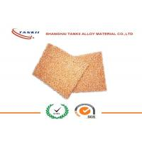 Quality Shield / Filter 0.3mm Ni Fe Foam Pure Copper Sheet Continuous Porous Cu Foam for sale