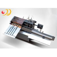 China Semi - Automatic Book Binding Machine Saddle Stitching Machine on sale