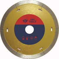 China Laser Cut  Continuous Diamond Cutting Blade 115mm  For Tile Cermaic Procelain wholesale