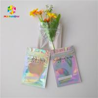 Quality Customized Color Laser Stand Up Bags Heat Sealed Moisture Proof For Juice for sale