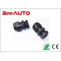 China Black 20mm Cable Gland , Nylon Rubber Ip68 Cable Gland International Standard wholesale
