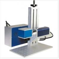 China Fiber Laser Ipg 30w Portable Laser Marking Machine For High Hardness Alloy Steel wholesale