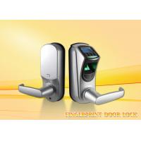 China Intelligent zinc alloy security  biometric fingerprint door lock for home with CE / FCC on sale
