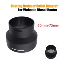 China 60mm 75mm Diesel Heater Ducting Pipe Reducer Adapter Converter wholesale