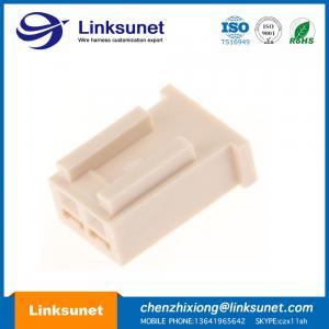 China PA6 2.5MM PICH Crimp Molex Wiring Harness 2P 22AWG UL1007 / 1061 / 1571 wholesale