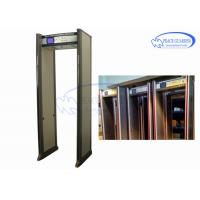 China Entertainment Places Archway Metal Detector Doors  Anti Interference Without Blind wholesale