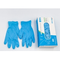 China Disposable Nitrile Gloves Powder Free Examination Protective Vina Gloves Safety Hand Gloves wholesale