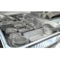 Alloy Household Disposable Thick Aluminium Foil Tray Container Food