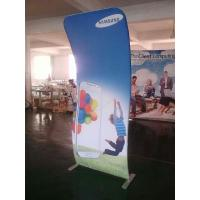 China 4*8FT Cobra Tension Fabric Banner Aluminum Stand + Graphic Printing wholesale