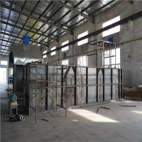 China Carbon Steel Bitumen Melter , Flue Heating / Thermal Oil Heating Box Drum Melter wholesale