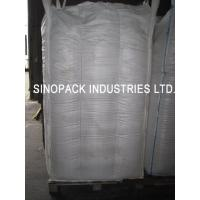China 1000KGS tall 4-Panel baffle bag 100% virgin PP for granules packing on sale