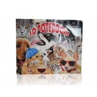 Quality Sea World And Animal A6 3D Lenticular Notebook With Display Box For Student for sale