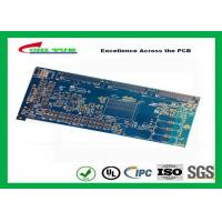 China Blue 20 Layer Quick Turn PCB Prototypes 3.5MM Immersion Gold 0.25mm Hole wholesale