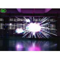 China HD Outdoor RGB led transparent screen With 96*96 Cabinet Pixel , 16 bit Gray Scale wholesale