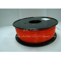 China Cubify and UP 3D Printer. 1.75 / 3.0mm 1.0KG / roll Fluorescent Filament PLA wholesale