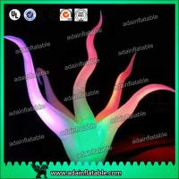 China Club Event Decoration Inflatable Arch Attractive With LED Changing Light wholesale