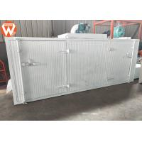 China Stainless Steel Wire Mesh Fish Feed Drying Machine , Electric Motor Feed Pellet Dryer wholesale