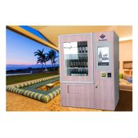 Buy cheap Lift Refrigerated Wine Vending Machine , Champagne Beer Vending Kiosk from wholesalers