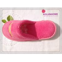 Quality Luxury quality disposable cotton hotel slipper eva lady slipper for sale