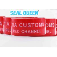 China Red Tamper Evident Sealing Warranty VOID OPEN Tape Transfer Security Seal Tape wholesale