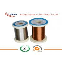 China Constantan Resistance Wire , Enamelled Wire Yellow Nature Color for Automobile Parts wholesale