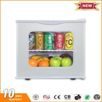 20L hotel mini fridge glass door thermoelectric small refrigerator price with