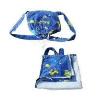 China Cotton Beach Towel With Self Tote Bag wholesale