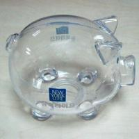 China Plastic Piggy Money Bank, Customized Logos are Welcome wholesale