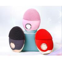 China Multi - Level Silicone Facial Cleansing Brush With 3 Kinds Indicator Lights wholesale