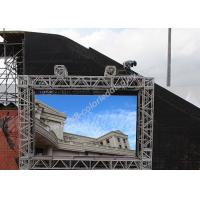 China P5 / P8 / P10 Outdoor Led Screen Advertising Light Weight Cabinet wholesale
