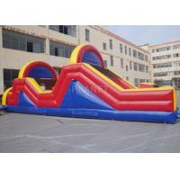 China Indoor / Outside Inflatable Obstacle Course Training Course Equipment wholesale