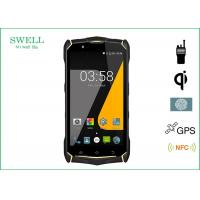 Buy cheap SJ9 IP68 Military Spec Smartphone 5.5 inch Android 7.0os with Fingerprint IR QI charge from wholesalers