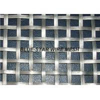 Buy cheap Flat Wire Intercrimp Wire Mesh For Decoration Square / Rectangular Aperture from wholesalers