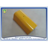 China Yellow Spray Painting Aluminum Parts Manufacturing For Construction and Industry wholesale