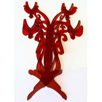 China CH (53) Red acrylic candle holder/candelabra wholesale