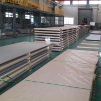 China Structure Application Stainless Steel Floor Plate 304 316L 321 310S Hot Rolled 1D Finish on sale