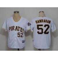 Quality mlb pittsburgh pirates #52 hanrahan cool base Jersey for sale