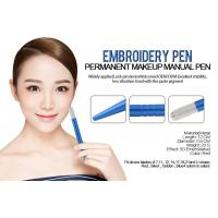 China Light Blue Cosmetic Microblading Eyebrow Embroidery Pen Aluminum Alloy wholesale