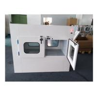China Customizable Double Swing Door Air Shower Pass Box With 1 Year Warranty wholesale