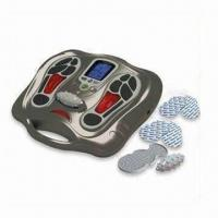 China Talented Foot Massager with 25 Auto Timer and 2-piece Gel Pad Holders wholesale