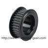 Aluminium Alloys Synchronous Belt Pulley , General Drive Synchronous Flat Belt Pulley