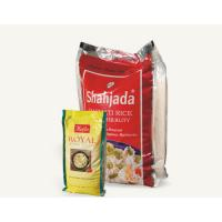 China Side Gusset Vacuum Plastic Bag , Stand Up And Color Printed Rice Packaging wholesale