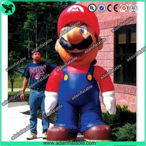 China 5m Inflatable Mario,Inflatable Mario Cartoon,Giant Inflatable Mario wholesale