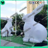 China White Inflatable Bunny,Easter Inflatable,Lighting Inflatable Bunny wholesale