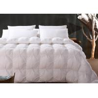 China 13.5 Tog Duck Feather And Down Double Duvet King Size / Queen Size For Home wholesale