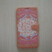 China China Region Flower Shape PU, Leather Mobile Phone Case For Iphone 6 on sale