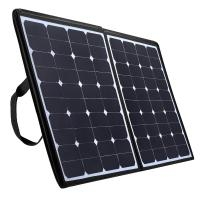 China High Efficiency Foldable Solar Panel Charger 100w For Laptop Tablet And Mobile Phone wholesale
