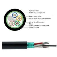 China GYTS 32 Cores Fiber Cable/Aerial fiber optic cable installation is a complicated and time-consuming work. wholesale