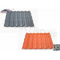 China Weathering Reistance Spanish Tile Roof Design With 35.9 FT. Length wholesale